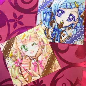 ◆【ミニ原画】ストロベリーチョコレイト