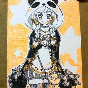 オレンジ・パンダガール