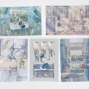 ポストカードセット(5枚)