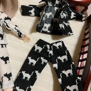 にゃんこパジャマ 黒