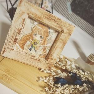 「向日葵」 額縁原画