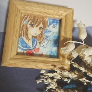 「クラゲちゃん」 額縁原画