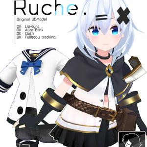 【オリジナル3Dモデル】ルーシュ(Ruche)