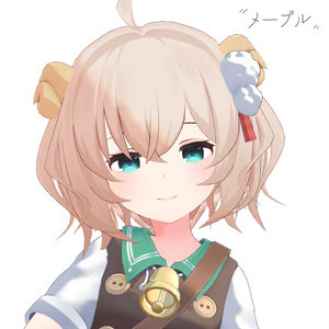 メープル(Maple)【オリジナル3Dモデル】
