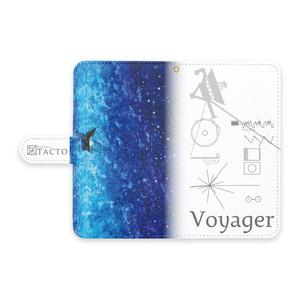 """手帳型Androidケース """"Voyager"""""""