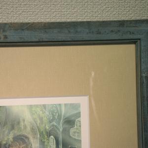 ジークレー複製原画「ブルーランタン」(額装済み)