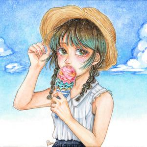 ポストカード「Summer time」