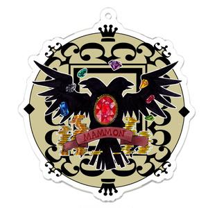 マモン教紋章のアクリルキーホルダー
