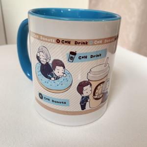 コナー&ハンク マグカップ