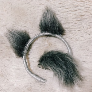 『受注生産』オオカミ耳セット