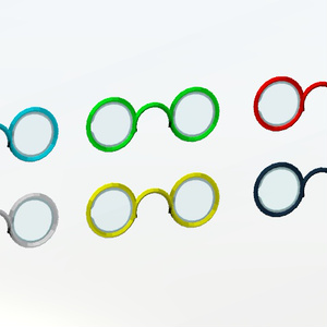 ミニ丸眼鏡