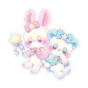 Twinkle magic ステッカー(クリア)
