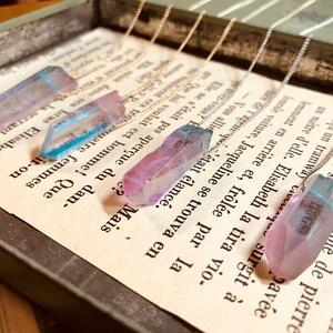夢色水晶のネックレス