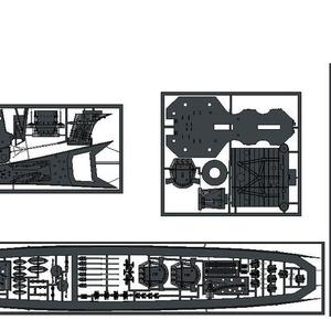 1/700 大日本帝国海軍 B65型超甲型巡洋艦