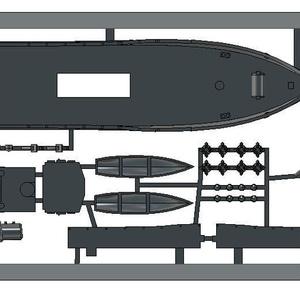 1/700 オスマン帝国/トルコ海軍 機雷敷設艦 Nusret