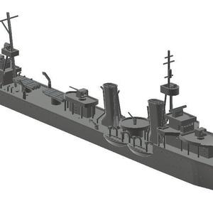 1/700 ルーマニア海軍駆逐艦 レジェーレ・フェルディナント級
