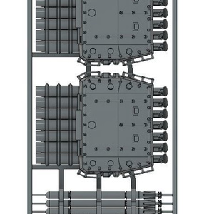 1/700 7連装魚雷発射菅