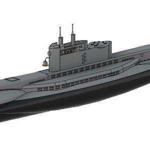 1/700 エストニア海軍 潜水艦 カレフ級