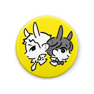 黒白バニー(黄色)
