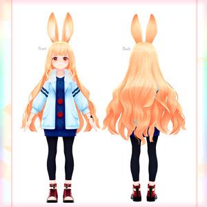 オリジナル3Dモデル 『みみの』