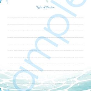 デザインポストカード「薔薇の海」