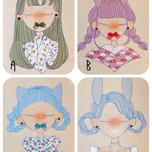 手描きのキャンバストート(11月)