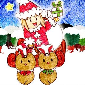 その花びらにくちづけを   We wish you a yurry christmas