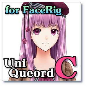 "UniQueord - "" C ""(for FaceRig)"