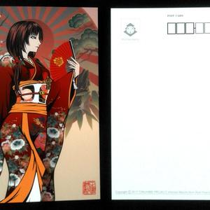 登久姫ポストカード5種類セット【在庫限り】