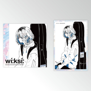 WEEKSII 01 - STICKER & ILLUSTRATION CARD SET