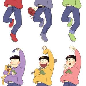六つ子ちゃんアクキー