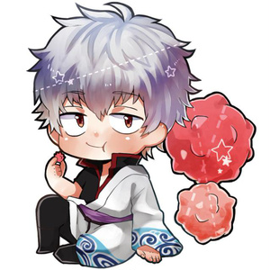 【銀魂】銀ちゃんとこんぺい糖【アクリルキーホルダー】