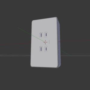 ダブル コンセント 配線用差込接続器