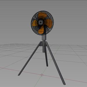 工業扇風機  業務用扇風機  オレンジのでかいやつ