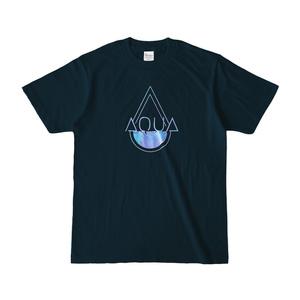 AQUAロゴTシャツ