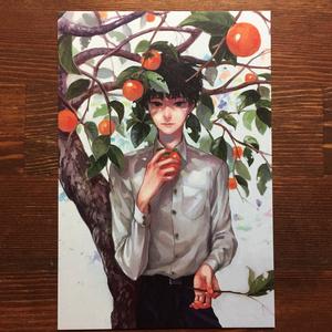 ポストカード 【 赤き実 】
