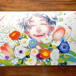 A5サイズ ポストカード 【開花】