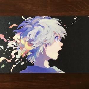 イラストカード 【ほどける】
