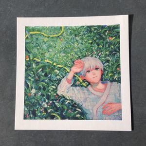 変型イラストカード【 白昼夢 】