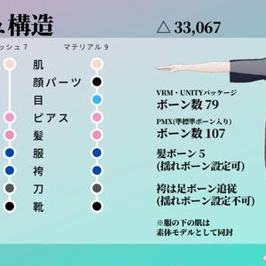四季島ハルト【和風男性アバター】