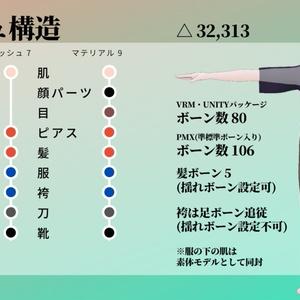 四季島アキヤ【和風男性アバター】