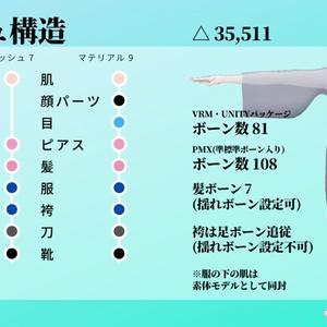四季島フユヒコ【和風男性アバター】