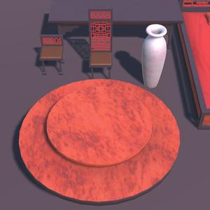 中華飯店の家具【VR向け 3Dモデル】