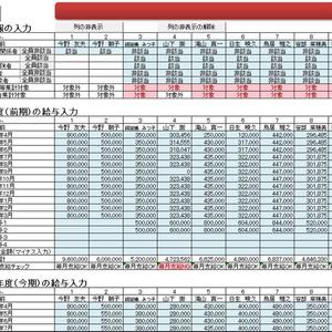 賃上げ・投資促進税制計算シート(大企業H30.4以降用・100人版)