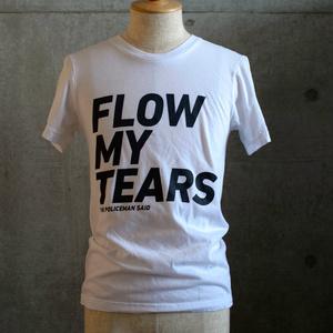 「流れよわが涙、と警官は言った」Tシャツ (White)