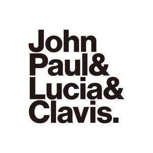 【完売】「ジョン・ポール&ルツィア&クラヴィス.」T シャツ (Navy)