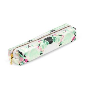 緑x桃色ペンケース
