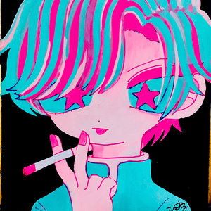 煙草 ミニ色紙