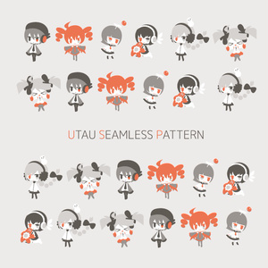 UTAU SEAMLESS PATTERN