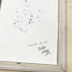 【原画】ダイヤモンドの煌めき(フレームつき)